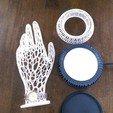IMAG0310.jpg Download STL file Her Hand Tree of Jewelry • 3D print design, SamVoro