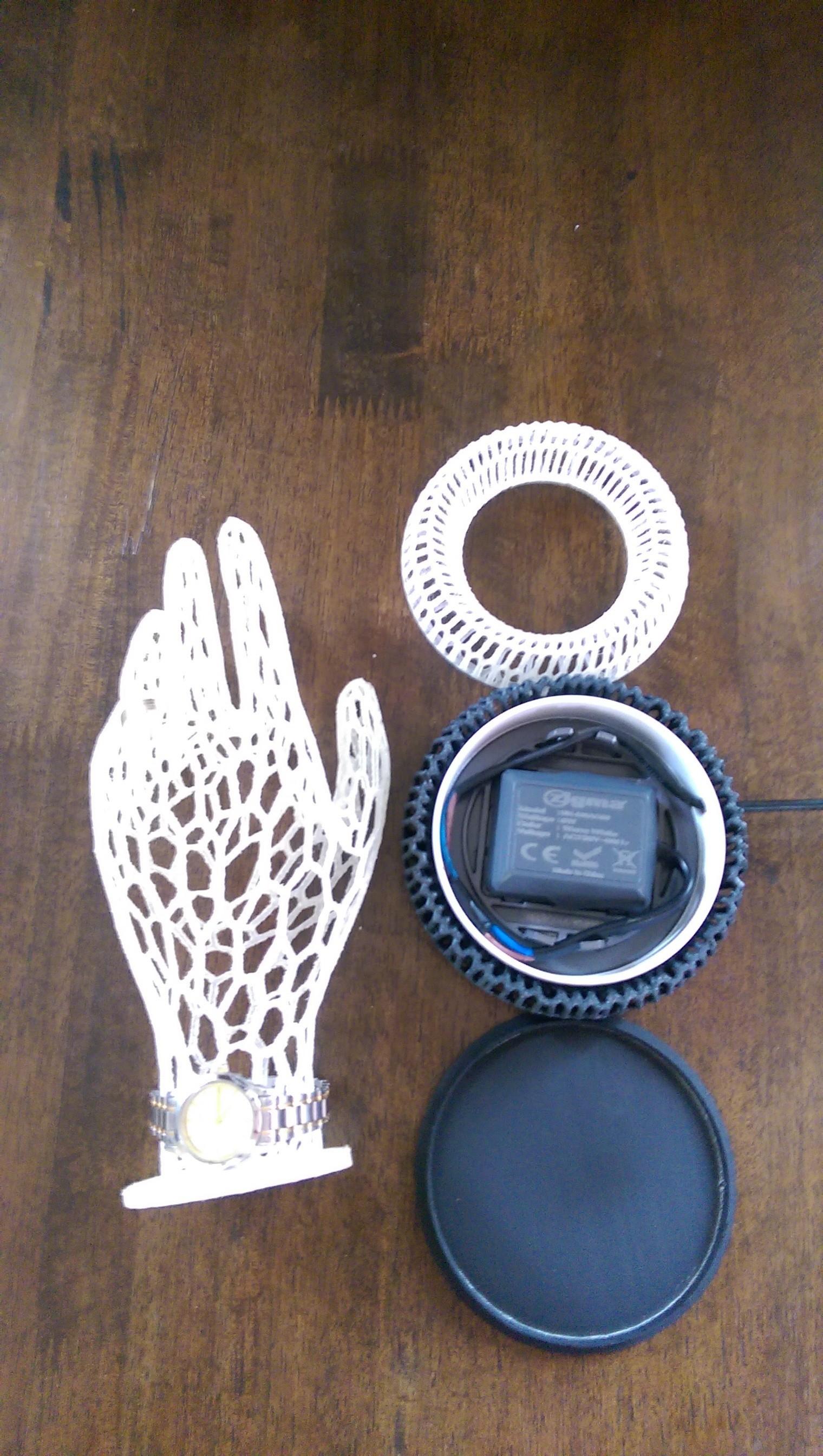 IMAG0309.jpg Download STL file Her Hand Tree of Jewelry • 3D print design, SamVoro