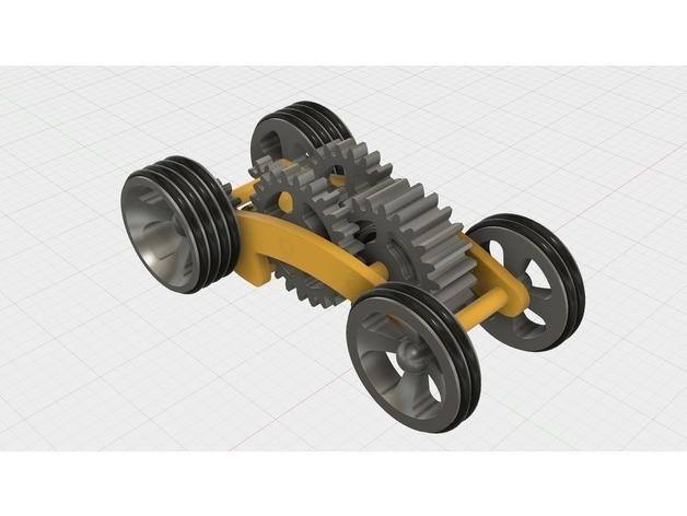 cacdc76da85b7435f2a5f8964ea2c6d3_preview_featured.jpg Télécharger fichier STL gratuit Tabletop Tri-Mode Spring Motor Rolling Chassis • Design pour imprimante 3D, gzumwalt