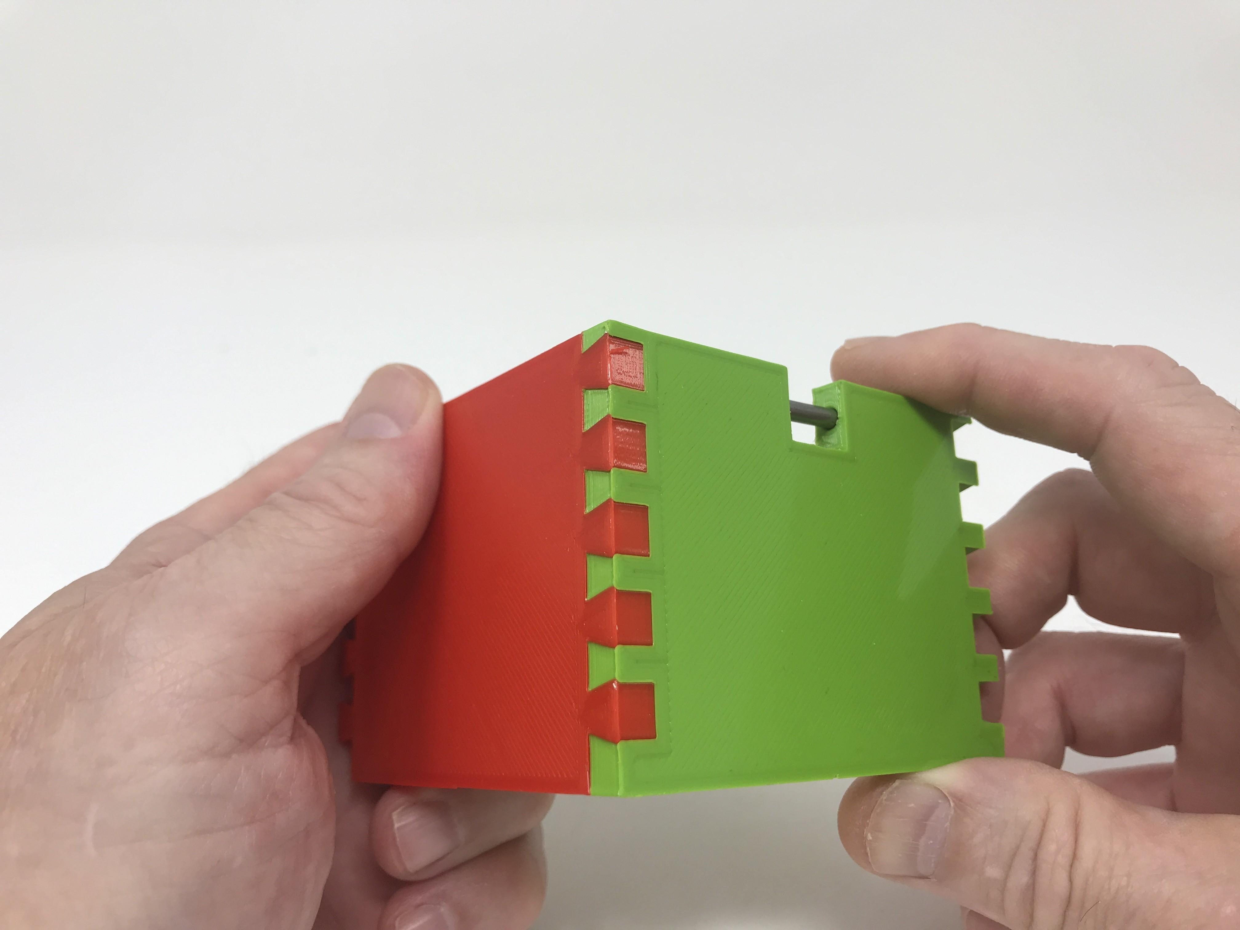 Image0009.jpg Download free STL file Simple Secret Box V:  Gift Box Edition • Model to 3D print, gzumwalt