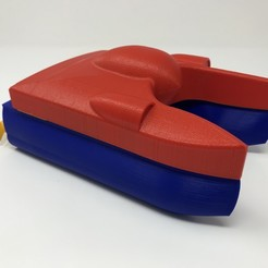 Free 3D printer model WiFi Propeller Boat, gzumwalt