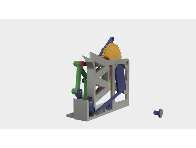 57f749e7b20003f11db667fb0ad48cf8_preview_featured.jpg Download free STL file Marblevator, Mechanisms • Object to 3D print, gzumwalt