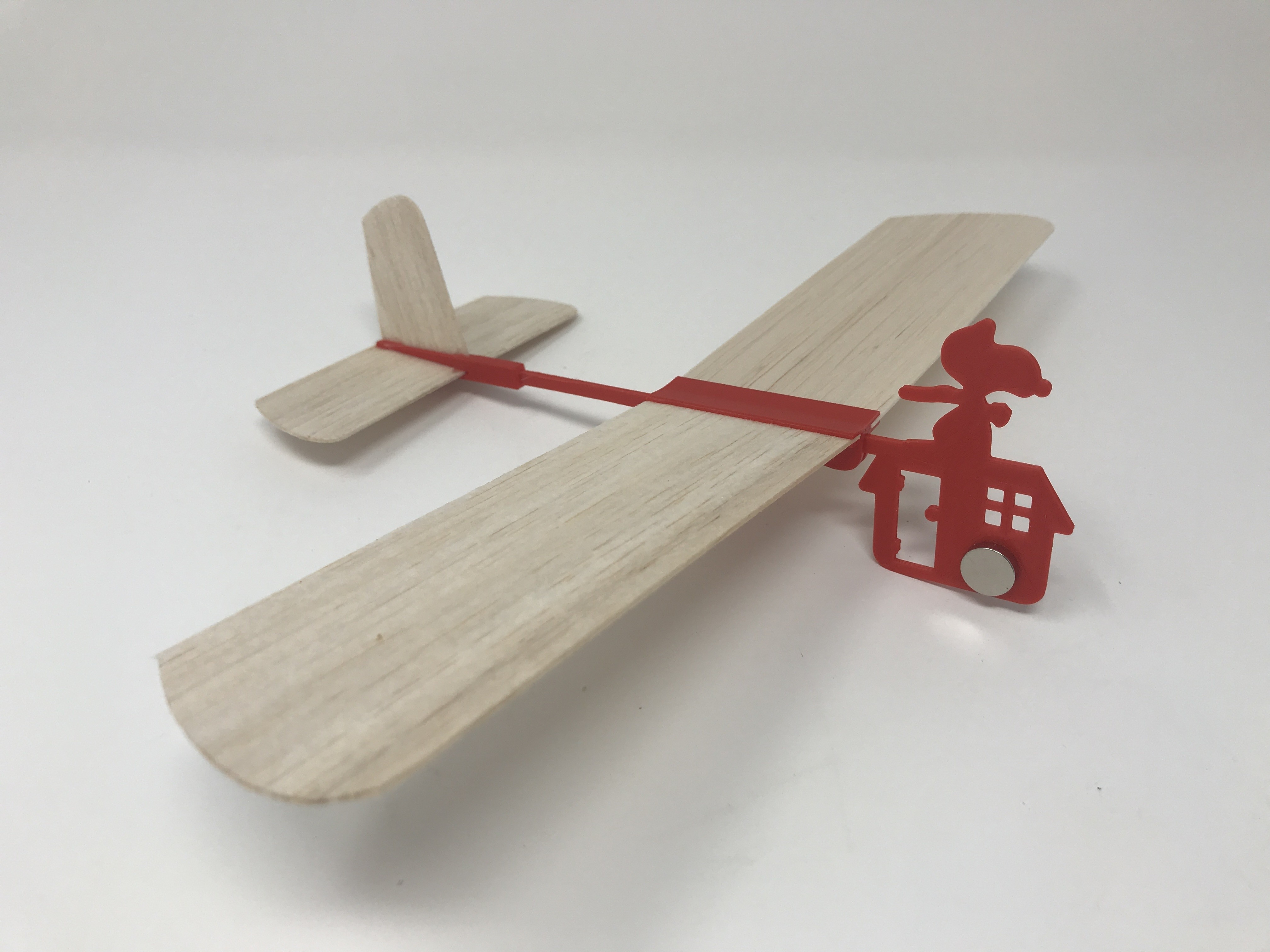 IMG_1755.jpg Download free STL file Red Baron Hand Launched Glider • 3D printer template, gzumwalt