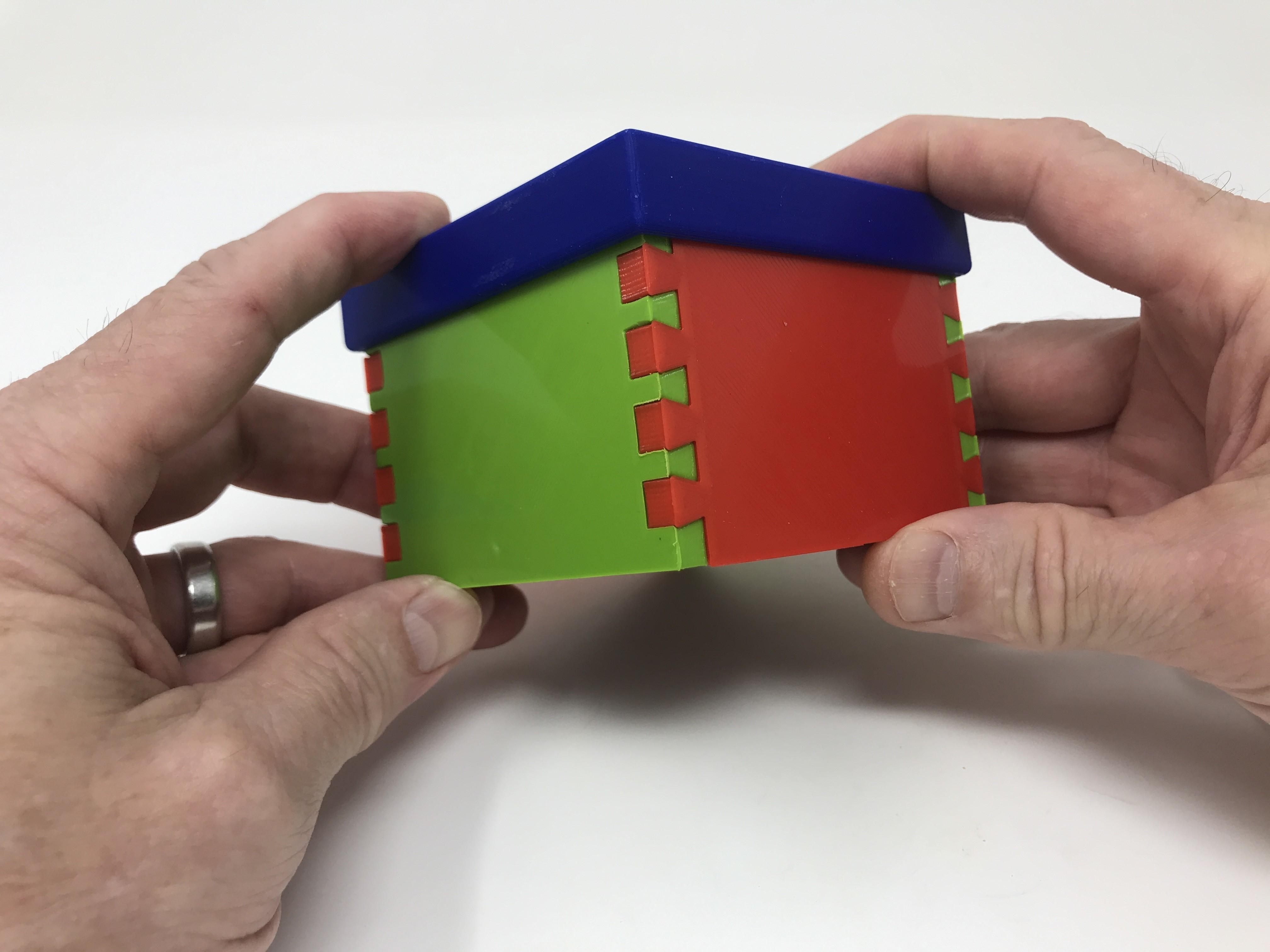 Image0013.jpg Download free STL file Simple Secret Box V:  Gift Box Edition • Model to 3D print, gzumwalt