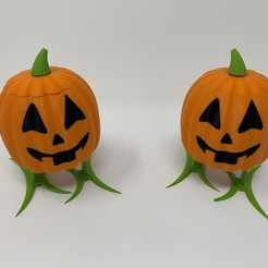 Download free STL Walking Pumpkin II, gzumwalt
