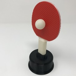 Download free 3D model Ping Pong Trophy, gzumwalt