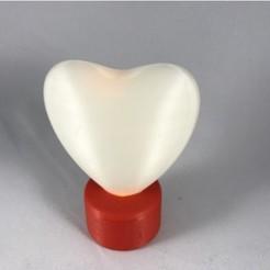 Modelos 3D gratis Lámpara de té Heart Tea, gzumwalt