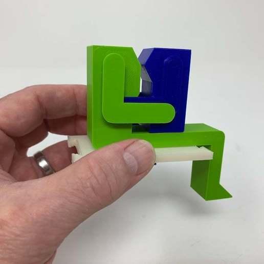 """Image0003f.JPG Télécharger fichier STL gratuit """"Lora et moi"""", un simple automate imprimé en 3D. • Plan à imprimer en 3D, gzumwalt"""