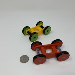 Image0000a.JPG Télécharger fichier STL gratuit Conception d'une voiture simple à élastique imprimé en 3D à l'aide de FreeCAD • Design pour impression 3D, gzumwalt