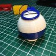"49747174e51f2e1d79fe3246b2294643_preview_featured.JPG Download free STL file String ""Climbing"" Ball • 3D printing design, gzumwalt"