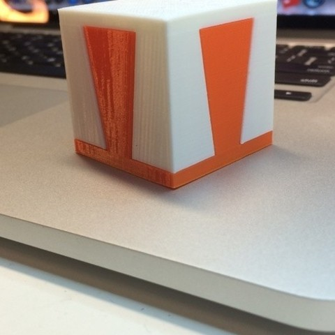 """photo_preview_featured-3.jpg Download free STL file The """"Impossible Dovetail"""" in cube and tall form, 3D printed in PLA • Object to 3D print, gzumwalt"""