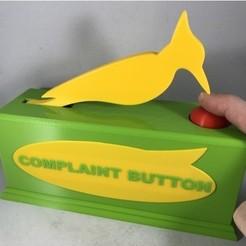 Free stl files Complaint Button, gzumwalt