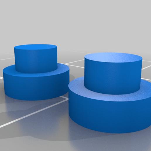 """Eyes.png Télécharger fichier STL gratuit """"Lora et moi"""", un simple automate imprimé en 3D. • Plan à imprimer en 3D, gzumwalt"""