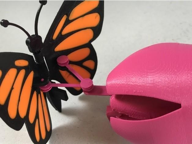 384a950d47d51b330dff348d2460344e_preview_featured.JPG Download free STL file Butterfly • 3D printer model, gzumwalt