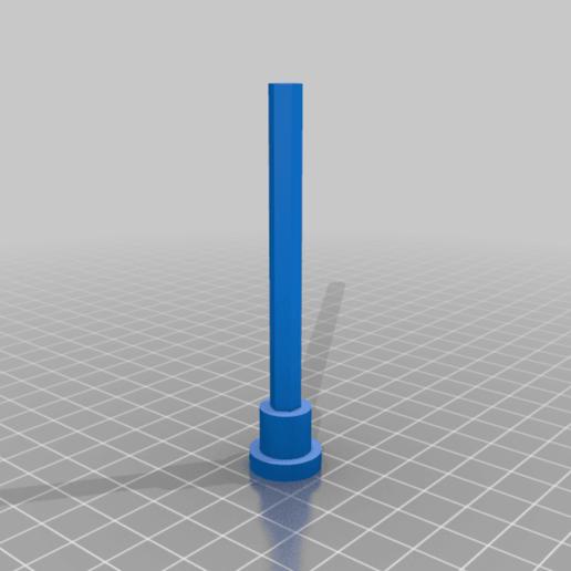 """Axle.png Télécharger fichier STL gratuit """"Lora et moi"""", un simple automate imprimé en 3D. • Plan à imprimer en 3D, gzumwalt"""