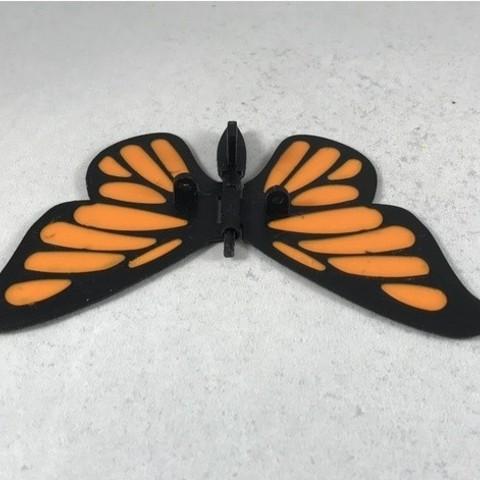 f26721ba2f8f2b5df09ce3eb6523f871_preview_featured.JPG Download free STL file Butterfly • 3D printer model, gzumwalt