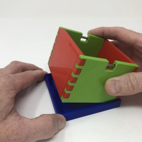 Image0014.jpg Download free STL file Simple Secret Box V:  Gift Box Edition • Model to 3D print, gzumwalt