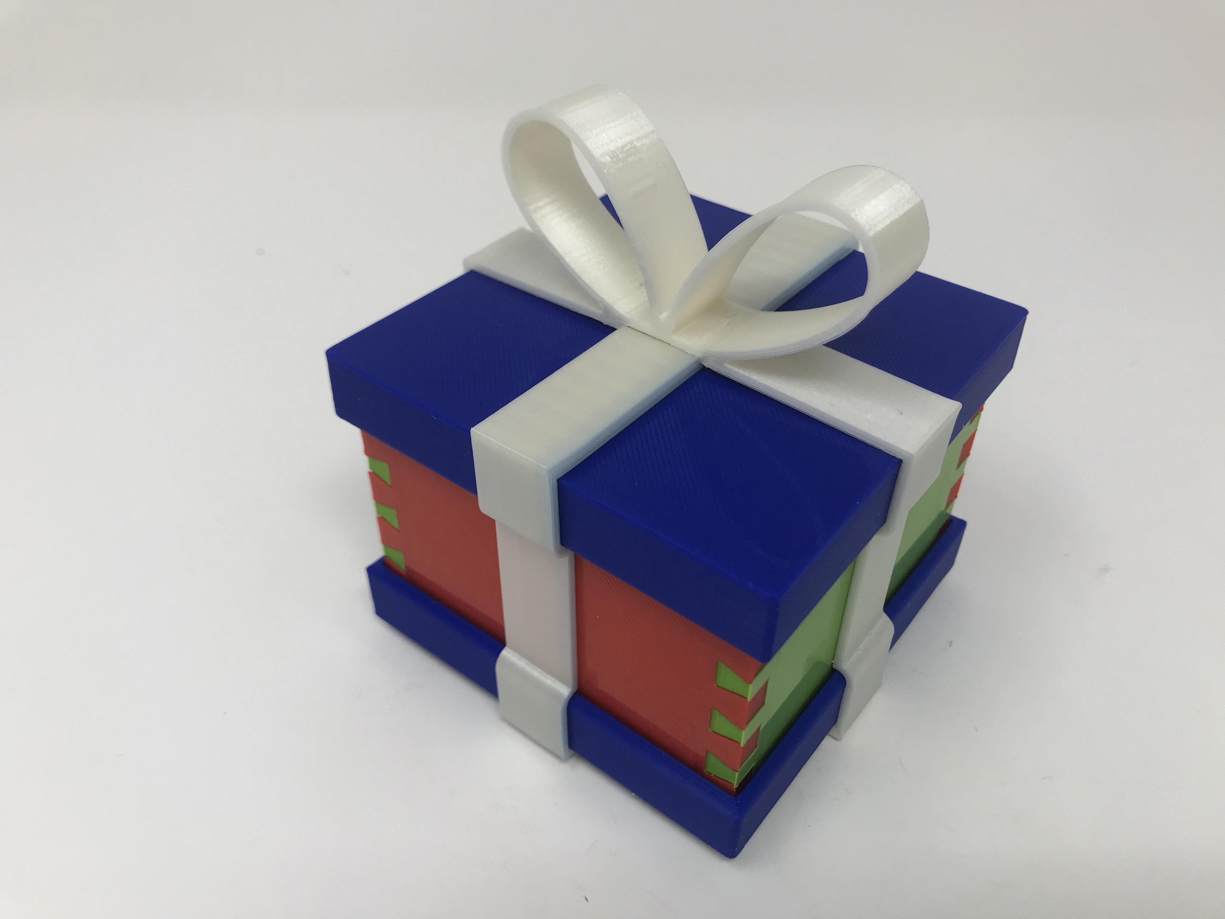 Image0001.jpg Download free STL file Simple Secret Box V:  Gift Box Edition • Model to 3D print, gzumwalt