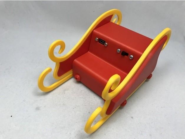9d687da60b9dc841ff665c0c483b964a_preview_featured.JPG Download free STL file Santa's Sleigh • 3D printable template, gzumwalt