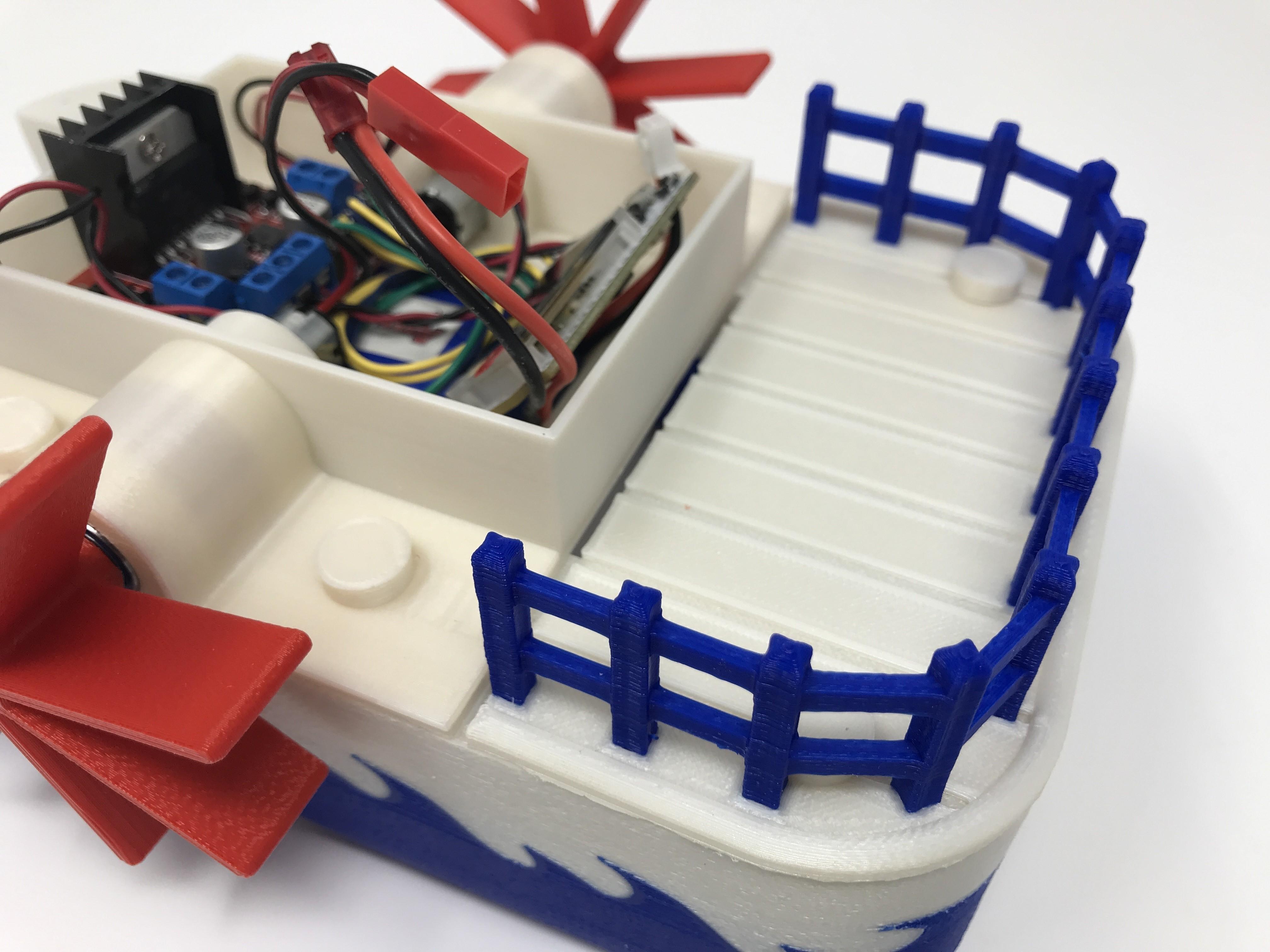 IMG_0859.jpg Download free STL file WiFi Paddle Boat • 3D printing design, gzumwalt