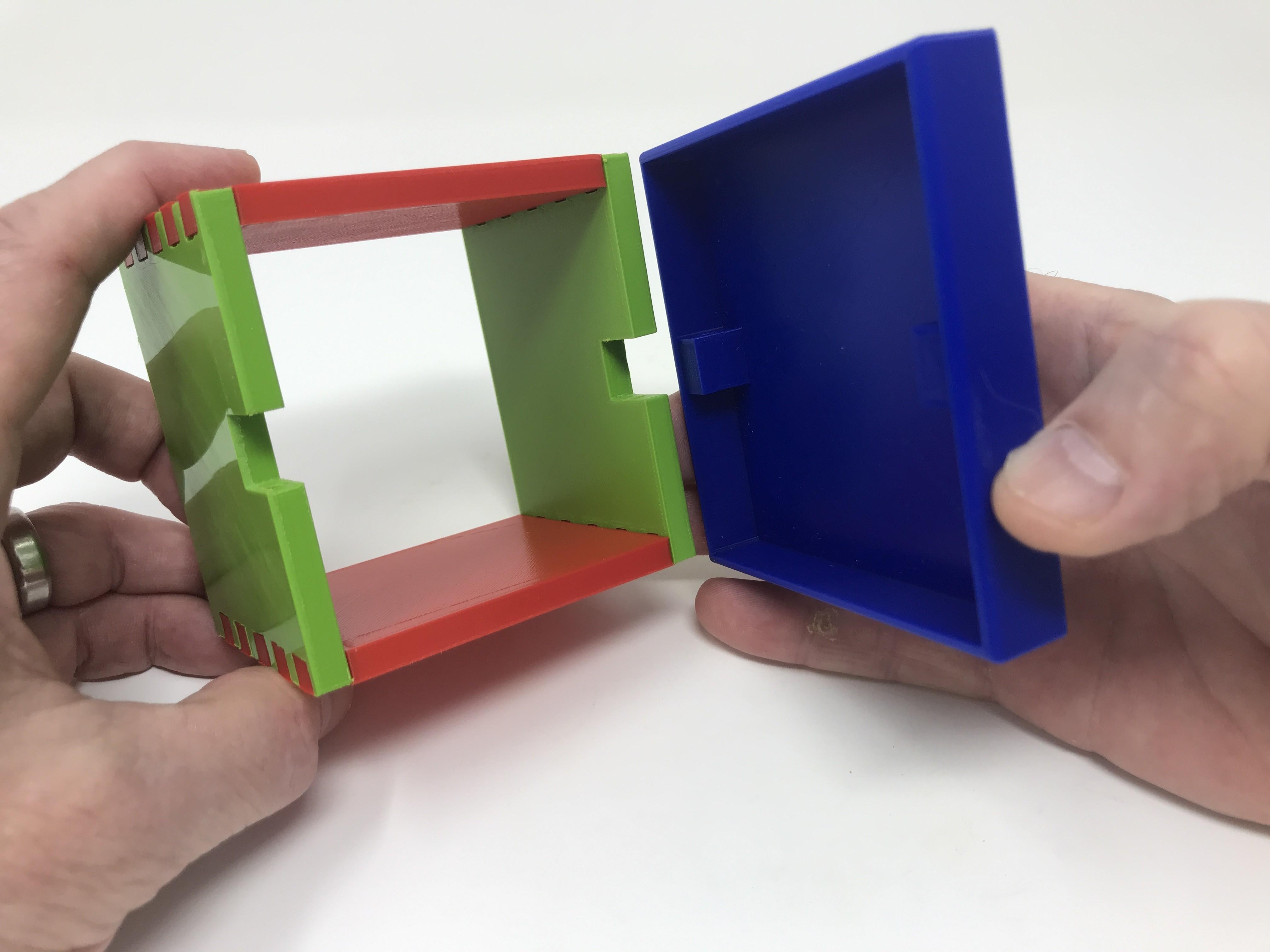 Image0012.jpg Download free STL file Simple Secret Box V:  Gift Box Edition • Model to 3D print, gzumwalt