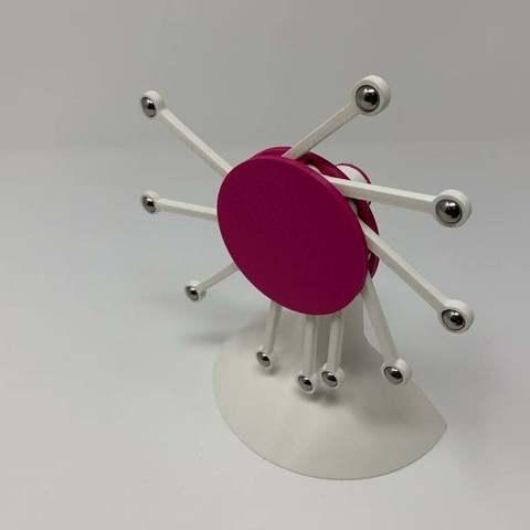 Free 3D printer model Perpetual Motion da Vinci Style III, gzumwalt