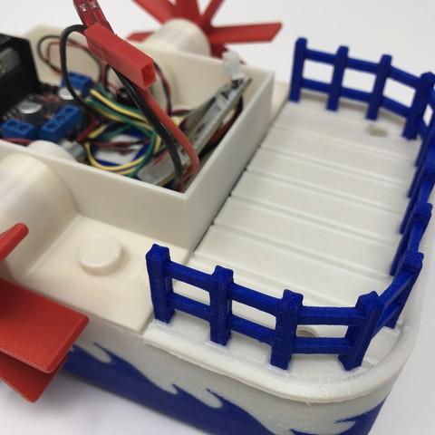 IMG_0839.jpg Download free STL file WiFi Paddle Boat • 3D printing design, gzumwalt
