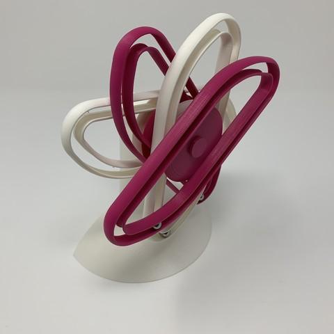 Free 3D print files Perpetual Motion da Vinci Style IV, gzumwalt
