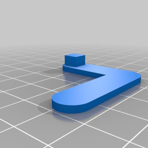 """His_Arm_LeftMirror.png Télécharger fichier STL gratuit """"Lora et moi"""", un simple automate imprimé en 3D. • Plan à imprimer en 3D, gzumwalt"""