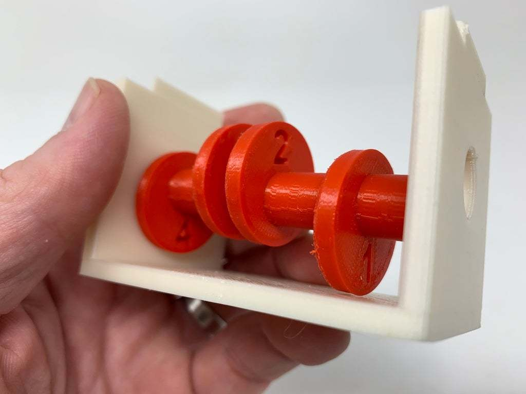 """Image0002e.JPG Télécharger fichier STL gratuit """"Lora et moi"""", un simple automate imprimé en 3D. • Plan à imprimer en 3D, gzumwalt"""