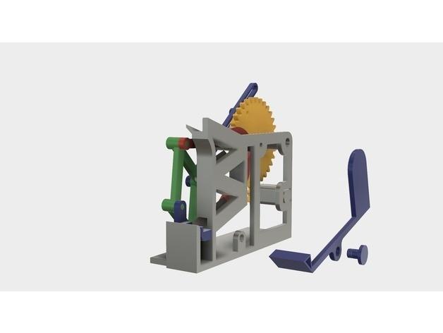 e5e45a3a8a46578c20112b13996674b2_preview_featured.jpg Download free STL file Marblevator, Mechanisms • Object to 3D print, gzumwalt