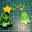 "Free 3d print files String ""Climbing"" Christmas Tree, gzumwalt"