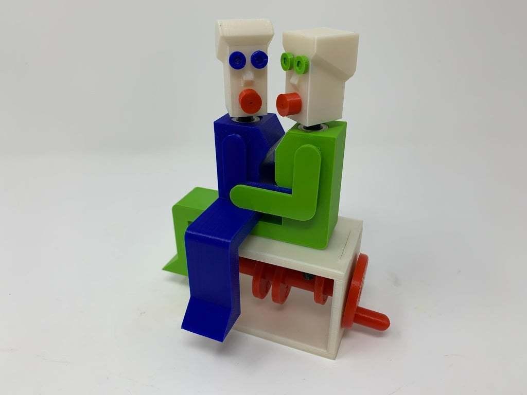 """Image0000a.JPG Télécharger fichier STL gratuit """"Lora et moi"""", un simple automate imprimé en 3D. • Plan à imprimer en 3D, gzumwalt"""