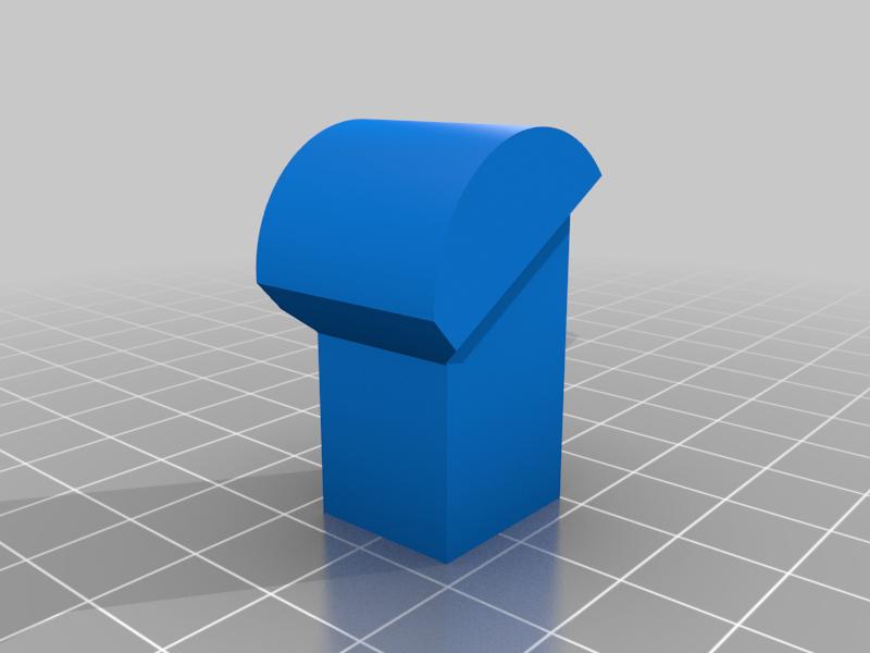 """Hers_Head.png Télécharger fichier STL gratuit """"Lora et moi"""", un simple automate imprimé en 3D. • Plan à imprimer en 3D, gzumwalt"""