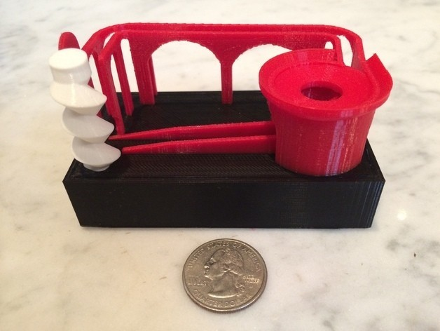 """photo_preview_featured-3.jpg Download free STL file Marblevator """"Mini"""", Bowl Edition • 3D printer object, gzumwalt"""