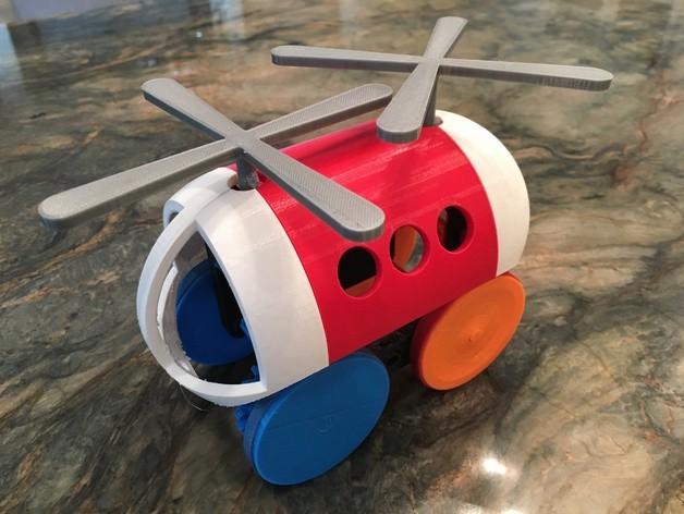 IMG_2663_preview_featured.jpg Télécharger fichier STL gratuit Hélicoptère Pull, Push, Downhill Toy 2 • Design pour imprimante 3D, gzumwalt