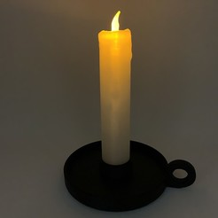Download free 3D model Inductive Candle, gzumwalt