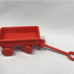 Free stl file Little Red Wagon, gzumwalt