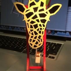 Free stl Pendulum Powered Giraffe In Motion, gzumwalt