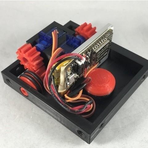 Télécharger fichier imprimante 3D gratuit Châssis motorisé WiFi contrôlé par WiFi, gzumwalt