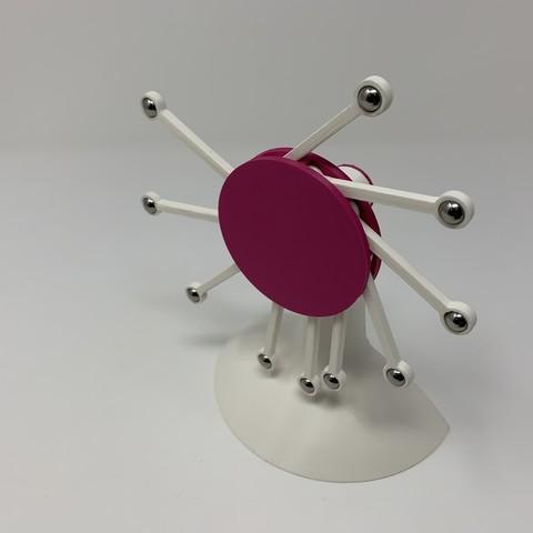 Download free 3D printing models Perpetual Motion da Vinci Style III, gzumwalt