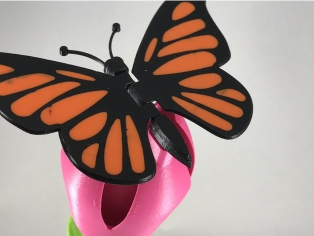 4daae8e93e2e32219423da438d120f6d_preview_featured.JPG Download free STL file Butterfly • 3D printer model, gzumwalt