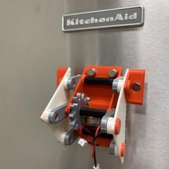 Image0000a.JPG Télécharger fichier STL gratuit Rouleur de réfrigérateur • Objet pour impression 3D, gzumwalt