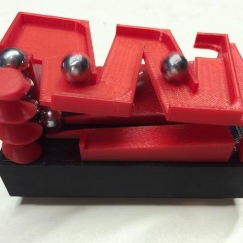 """Fichier imprimante 3D gratuit Marblevator """"Mini"""", Zigzag Edition Track, gzumwalt"""