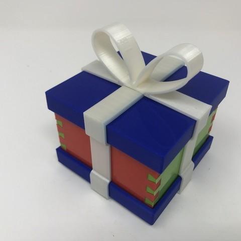 Free 3D model Simple Secret Box V:  Gift Box Edition, gzumwalt