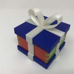 STL gratis Simple Secret Box V: Edición Caja de Regalo, gzumwalt