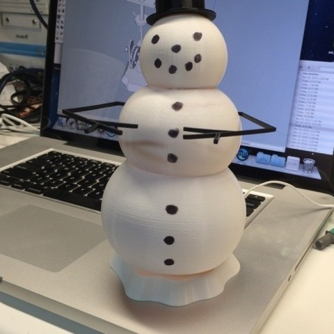 Completed_preview_featured.jpg Download free STL file Animated Snowman • Template to 3D print, gzumwalt