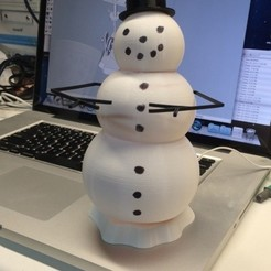 Download free 3D print files Animated Snowman, gzumwalt