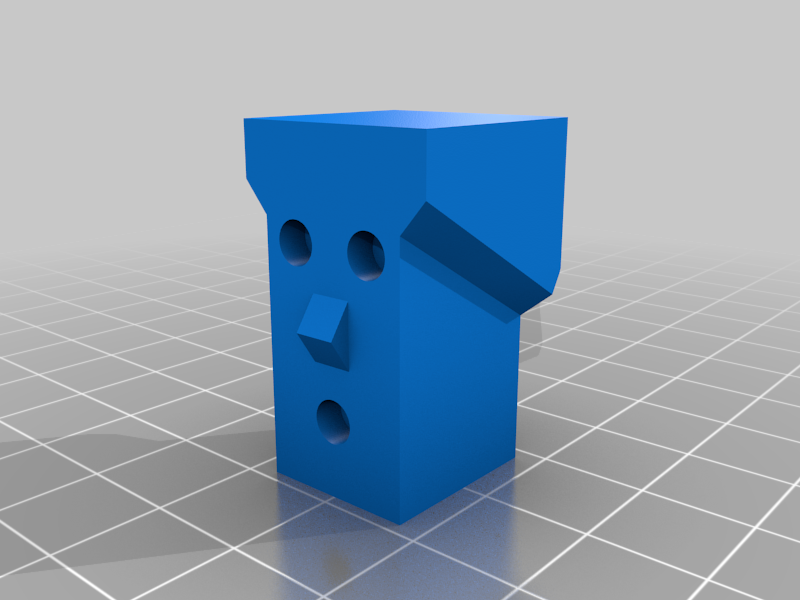 """His_Head.png Télécharger fichier STL gratuit """"Lora et moi"""", un simple automate imprimé en 3D. • Plan à imprimer en 3D, gzumwalt"""