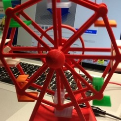 Free 3d printer files Ferris Wheel (yet another), gzumwalt